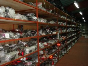 Delivery of spare parts from China